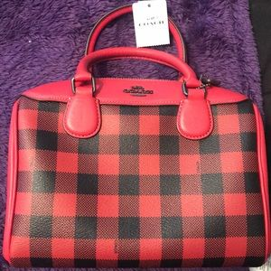 Brand new with tags coach purse